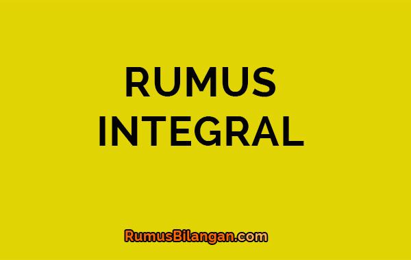 rumus integral