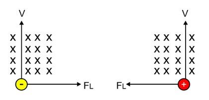 Gaya Lorentz pada Muatan Bergerak dalam Medan Magnet