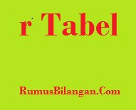 r Tabel