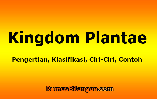 Kingdom Plantae