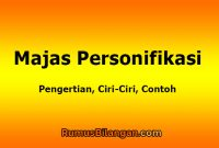Majas Personifikasi
