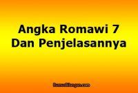 Angka Romawi 7