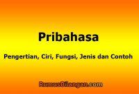 Pengertian Peribahasa