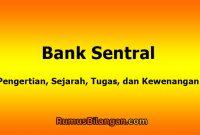 Pengertian Bank Sentral