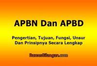 APBN Dan APBD
