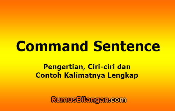 Command Sentence