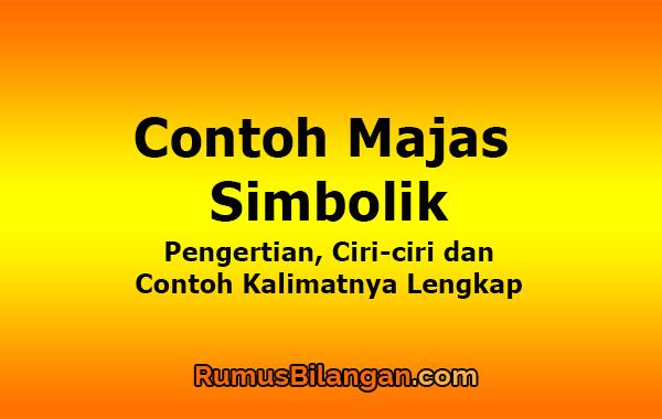 Contoh Majas Simbolik