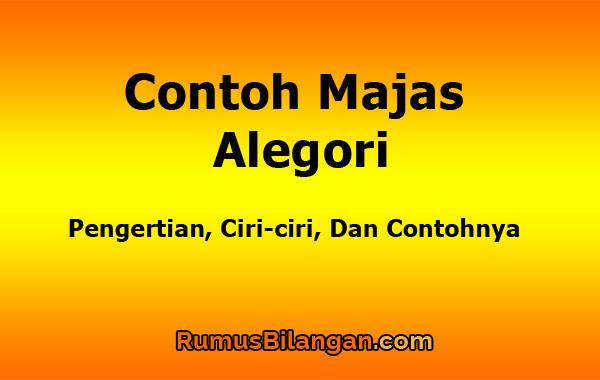 Contoh Majas Alegori