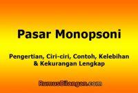 Pasar Monopsoni