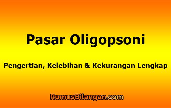 Pasar Oligopsoni