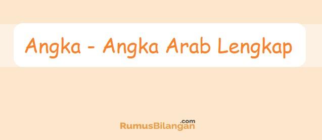 Angka Arab
