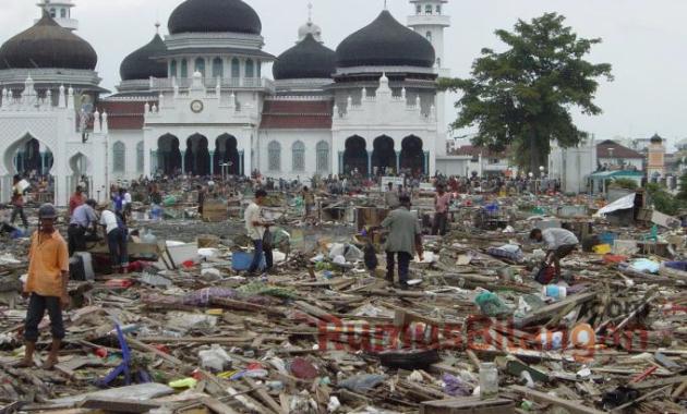 Contoh Teks Sejarah Tentang Tsunami di Aceh