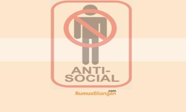Anti Sosial