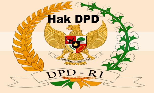 Hak Setiap Anggota DPD