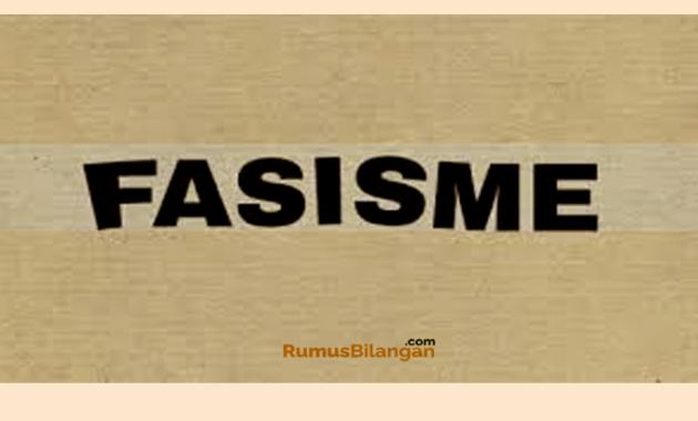 Apa Itu Fasisme