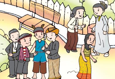 Materi Pembelajaran Halaman 45 Mengenai Kerukun Dalam Hidup Bermasyarakat