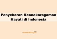 Penyebaran Keanekaragaman Hayati di Indonesia