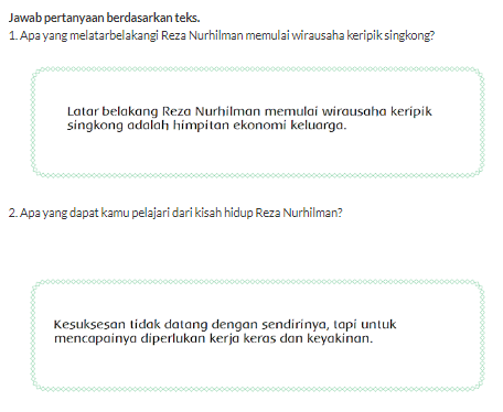 Materi Pembelajaran Halaman 36 Mengenai Kerja Keras