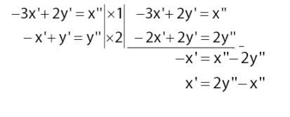 Jika Cari nilai x ':