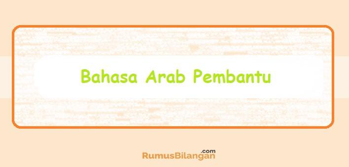 Bahasa Arab Pembantu
