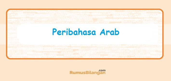 Peribahasa Arab