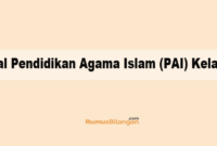 Soal Pendidikan Agama Islam (PAI) Kelas 6