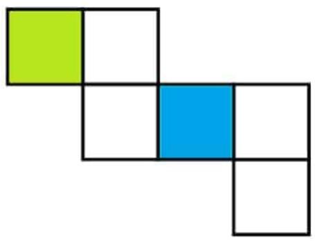 Gambar Jaring - Jaring Kubus 10
