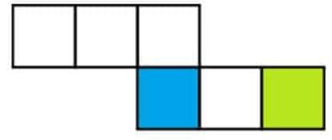 Gambar Jaring - Jaring Kubus 5
