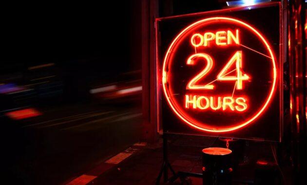Pelayanan selama 24 jam